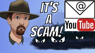 YouTube Email Phishing Scam almost Cost Me My Channel!