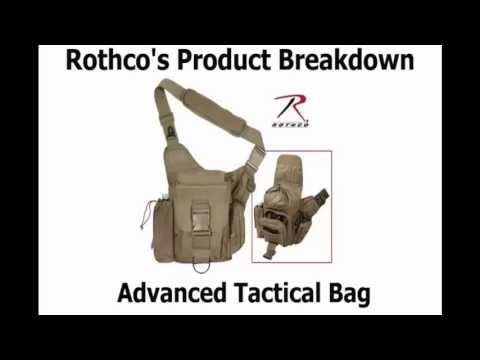 Rothco's Advanced Tactical Bag Product Breakdown