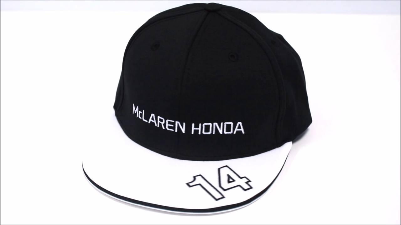 Gorra Plana McLaren Honda Oficial 2015 Fernando Alonso - YouTube c257bcd9af8