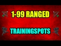 1-99 Range Guide 07 Training Spots With Cannon Profit Only OSRS 2007