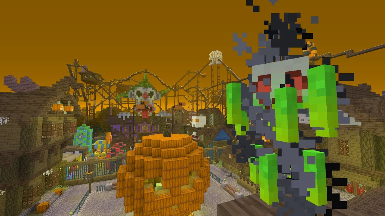 minecraft xbox360ps3 halloween mashup full showcase first impressions youtube - Halloween Xbox 360