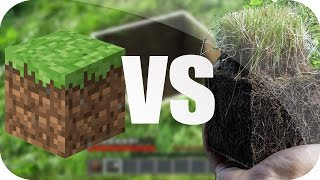 MINECRAFT VS VIDA REAL - IMPOSIBLE NO REIR!