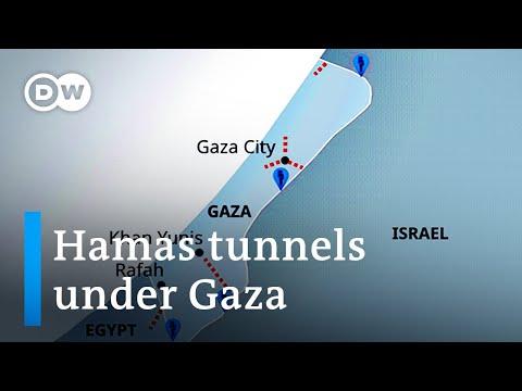 Terrorist supply route or humanitarian lifeline? Israel is targeting tunnels under Gaza | DW News