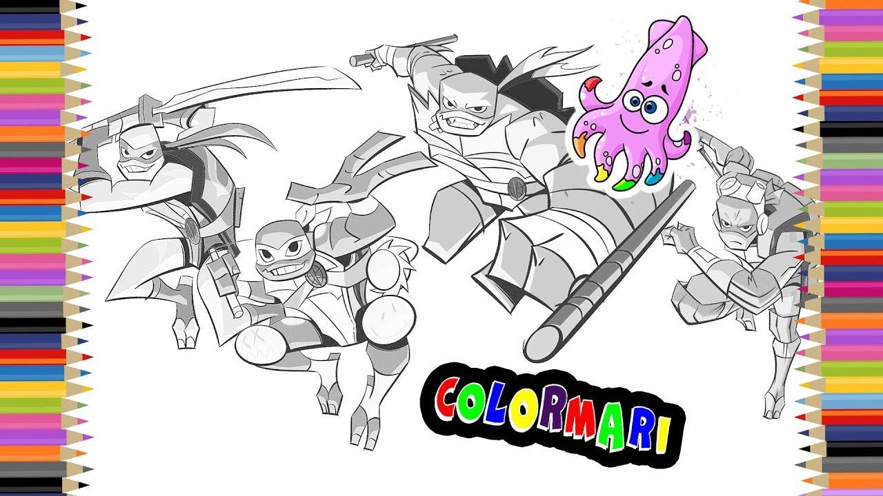 Printable Ninja Turtles Coloring Pages - Coloring Home | 720x1280