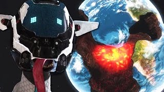 Goat Simulator Waste of Space #3 | BLOWING UP EARTH!