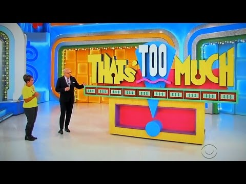 The Price is Right - That's Too Much - 3/27/2017