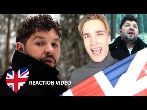 Reaction Video James Newman - My Last Breath United Kingdom Eurovision 2020