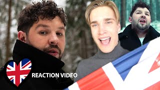 Reaction video James Newman - My Last Breath United Kingdom Eurovision 2020