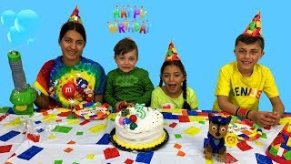 Happy Birthday Party Prank - Nursery Rhymes song for Children