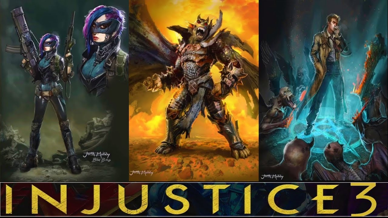 Injustice 3 Characters Revealed Youtube