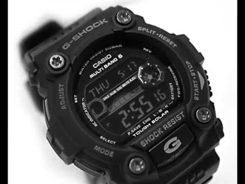 Casio Black G-Shock GW7900B-1 Solar Atomic Sports Watch Review: Helpful review on all kinds of G-Shock watches, including this black Casio G-Shock GW7900B-1 watch, special feature Solar powered G-Shock with Atomic function. More review articles about G-Shock at http://www.eurobonding.org.
