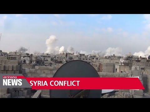 Crisis in Syria's eastern Ghouta intensifies, nearly 350 dead