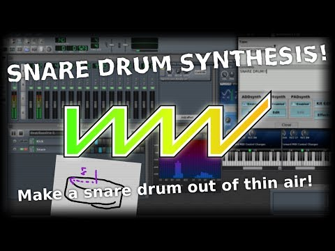 unfa - LZW S2/03 - Synthesizing a Snare Drum