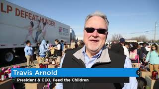 Feed the Children provides holiday care boxes for 400 families
