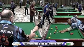 CQ Cue Sports City v Country 8 Ball Gladstone Fraser Coast