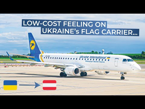 TRIPREPORT | Ukraine International (ECONOMY) | Embraer 190 | Kiev Boryspil - Vienna