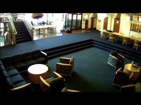 Seattle School Shooter Disarmed CCTV FOOTAGE! Incredible!