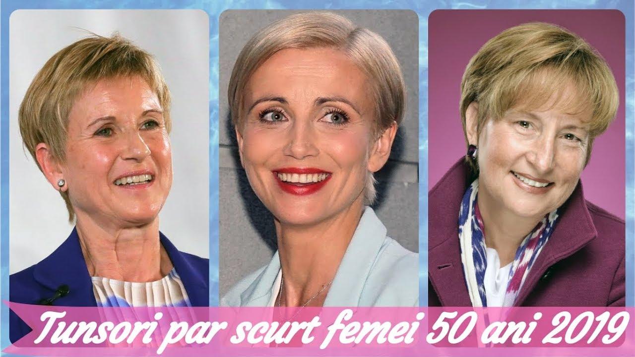 Top 20 De Tunsori Par Scurt Pentru Femei 50 Ani 2019 Youtube