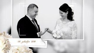 Свадебный фильм клип позитивных молодожёнов
