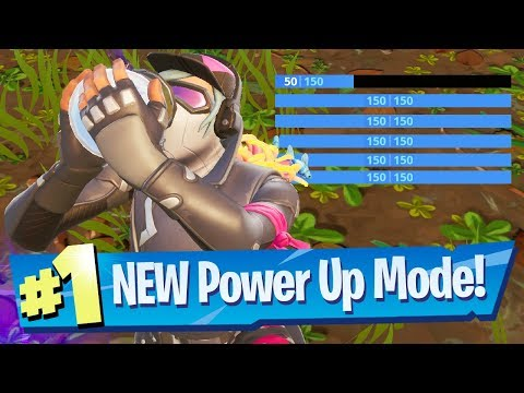 NEW Power Up Limited Time Mode Gameplay - Fortnite Battle Royale