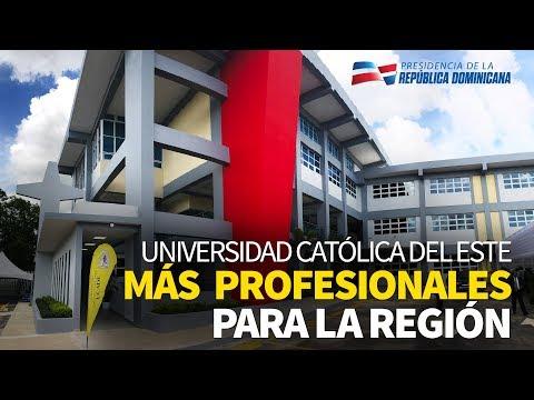 En Higüey, presidente asiste a inauguración nuevo edificio Universidad Católica del Este