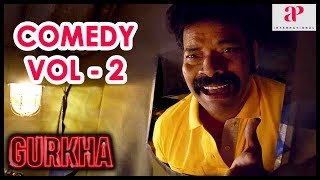 Gurkha Movie | Full Comedy Scene | Part 2 | Yogi Babu | Elyssa | Ravi Mariya | Devadarshini