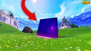 THE CUBE JUST ACTIVATED! // NEW LOW GRAVITY ZONE // New Fortnite Update