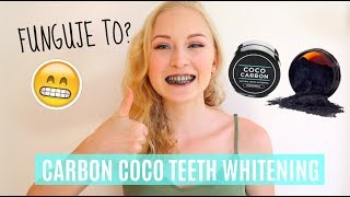 Funguje to? CARBON COCO TEETH WHITENING | Chick Lexi