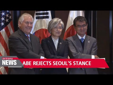 Abe rejects Seoul's position on 2015 'comfort women' deal... foreign ministers to meet in Vancouver