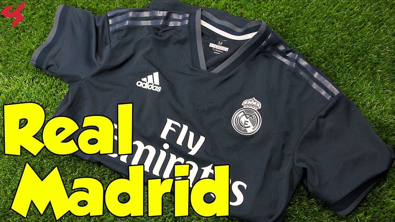 Adidas Real Madrid 2018 19 Away Jersey Unboxing + Review - YouTube 6caee29ed