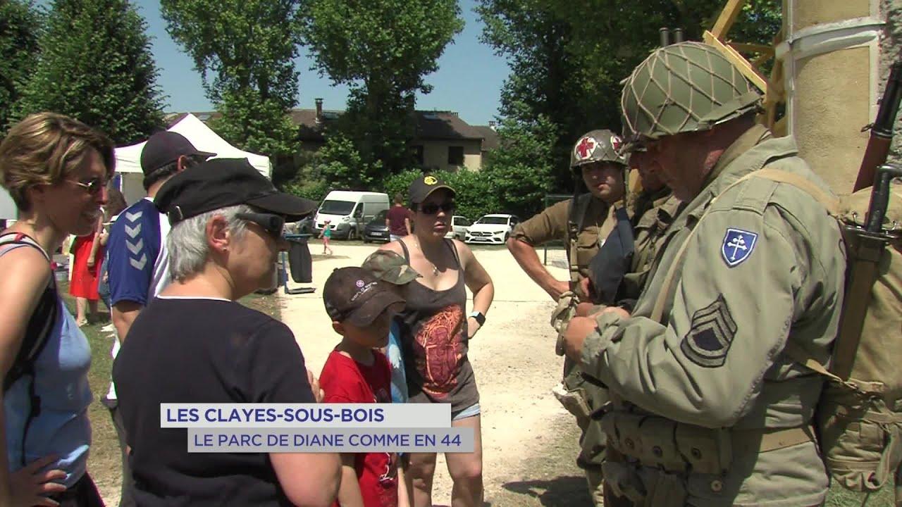 Yvelines | Les Clayes-sous-Bois : Le parc de Diane comme en 44