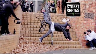 BMX IN THE STREETS OF MELBOURNE AUSTRALIA - THE STREET SERIES 2017