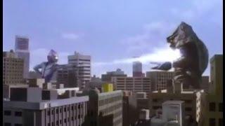 Ultraman Tiga vs Faldon
