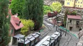 Zu Besuch auf der Schneeberger  LGB-Gartenbahn.