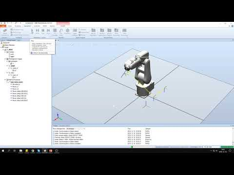 Ipari robotok programozása 4. ABB RobotStudio