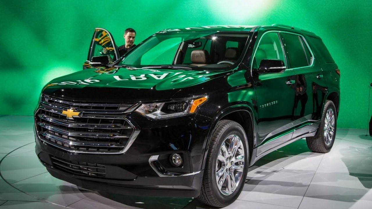 2018 Chevrolet Traverse | 2017 Detroit Auto Show - YouTube