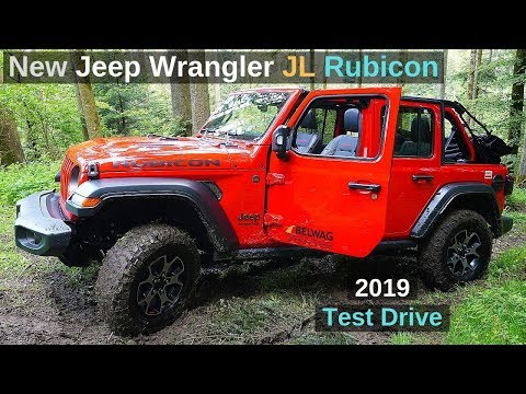 New Jeep Wrangler JL Rubicon 2019 Review & Test Drive Off Road