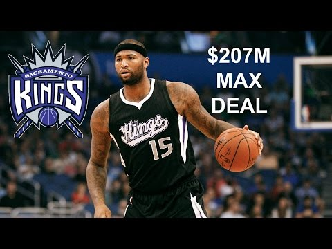 Demarcus Cousins Intends To Resign With Kings