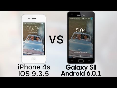 Full Speedtest iPhone 4s vs Samsung Galaxy S2 2017