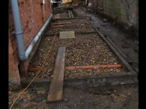 The Home Extension Stage 1 Groundworks Youtube