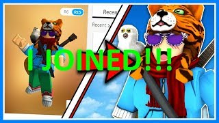 [ I JOINED KREEKCRAFTS GAME!!! ] ROBLOX JAILBREAK
