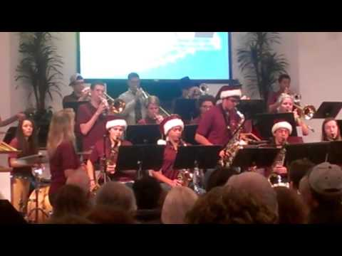 "Warner Christian Academy Jazz Band: ""Feliz Navidad"" (sax & trumpet  solo)"