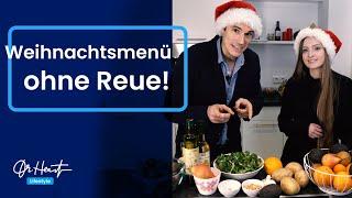 3 Gänge Weihnachtsmenü - leicht und lecker! | Dr.Heart