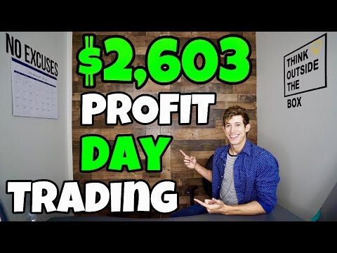 $2,603 Profit Day Trading Natural Gas ETF's   Step-By-Step