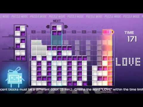 Lumines Remastered - Puzzle #97 LOVE