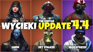 NEW FORTNITE SKINS LEANS SEASON 4 (UPDATE 4.4)