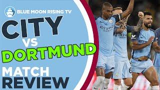 Manchester city 1-1 borussia dortmund (6-5 penalties) | goals: aguero, pulisic
