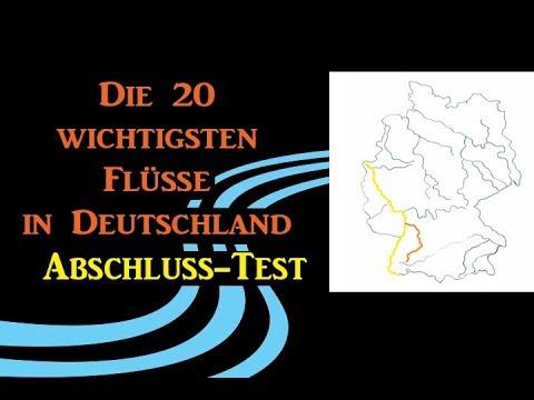 Die 20 Wichtigsten Flusse In Deutschland Abschluss Test Youtube