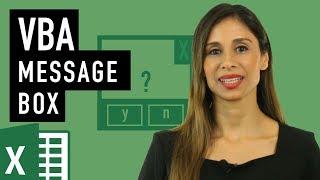 كيفية استخدام مربع رسالة في Excel VBA (بناء الجملة عند msgbox)