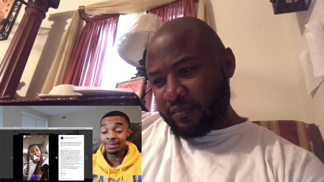 Poppa Taylor Responds To Flight Reacts